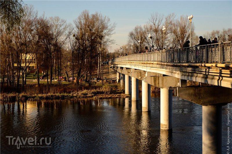 Река Северский Донец в Святогорске, Украина / Фото с Украины