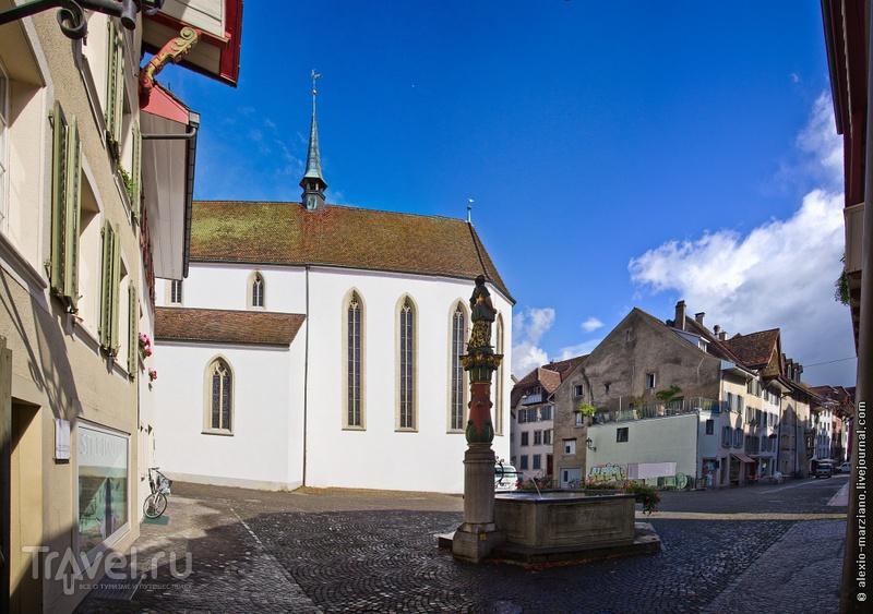 Арау: где живут обычные швейцарцы / Фото из Швейцарии