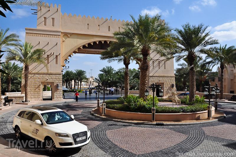 Рождественская ярмарка в жарких Эмиратах / Фото из ОАЭ