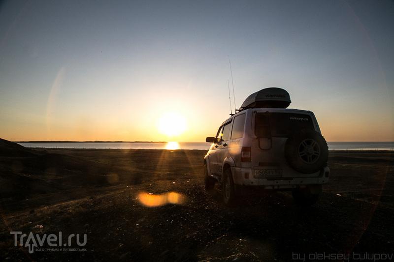 На берегу Балхаша, Казахстан / Фото из Киргизии