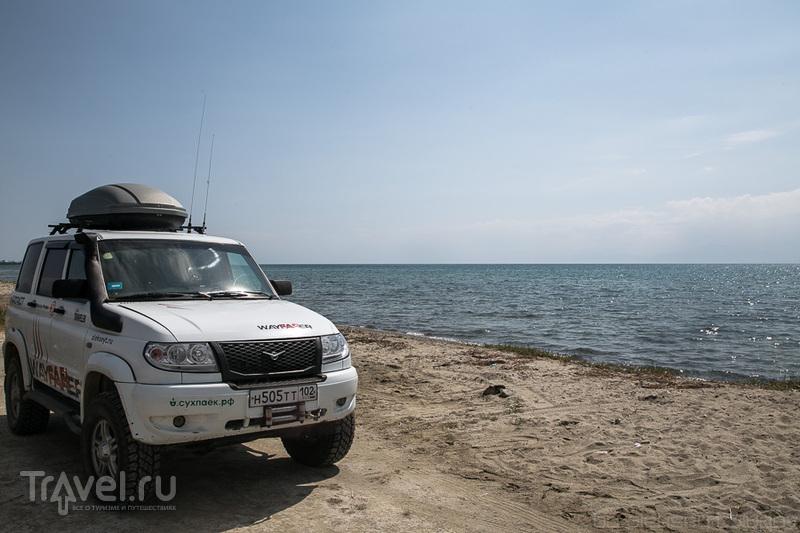 На берегу Иссык-Куля, Казахстан / Фото из Киргизии