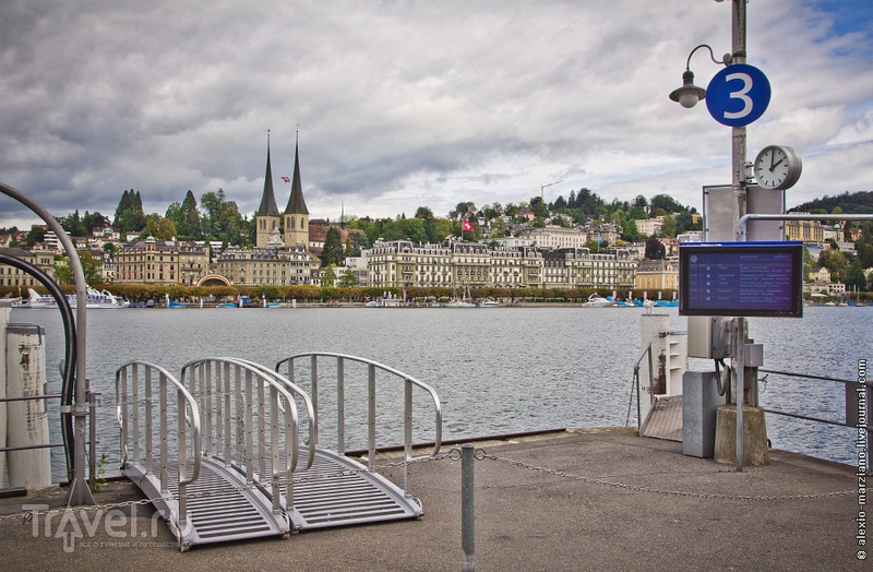 В городе Люцерн, Швейцария / Фото из Швейцарии