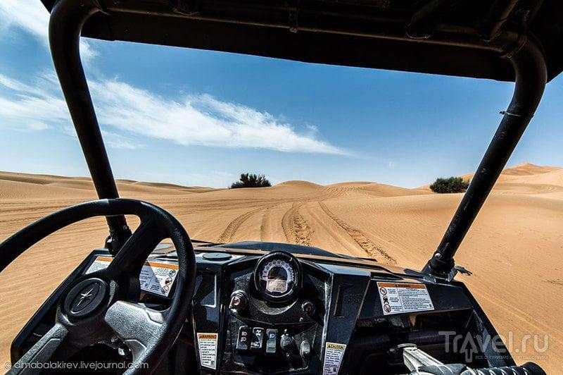 На квадроциклах по дубайским дюнам / Фото из ОАЭ