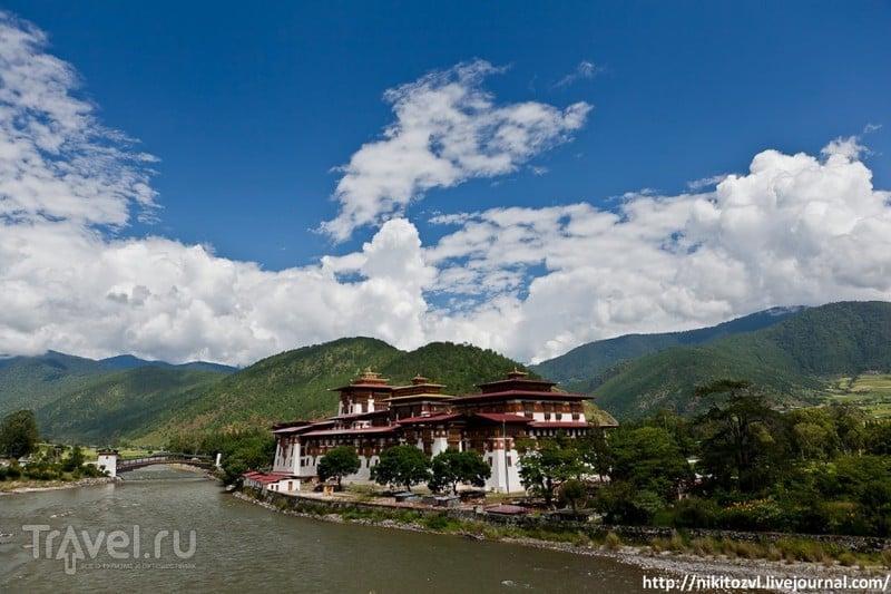 Монастырь Пунакха-дзонг, Бутан / Фото из Бутана