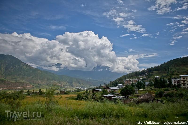 Бутан. Пунакха. Самый большой Дзонг / Фото из Бутана