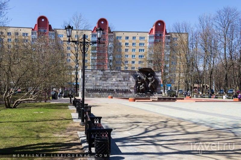 Памятник освободителям Полоцка на площади Свободы, Белоруссия / Фото из Белоруссии