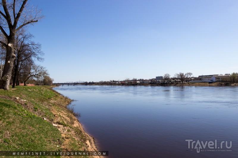 Западная Двина в Полоцке, Белоруссия / Фото из Белоруссии