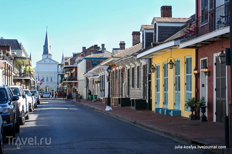 Во Французском квартале в Новом Орлеане, США / Фото из США