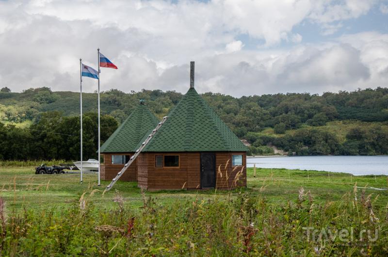 Кордон на реке Озерной в Камчатском крае, Россия / Фото из России