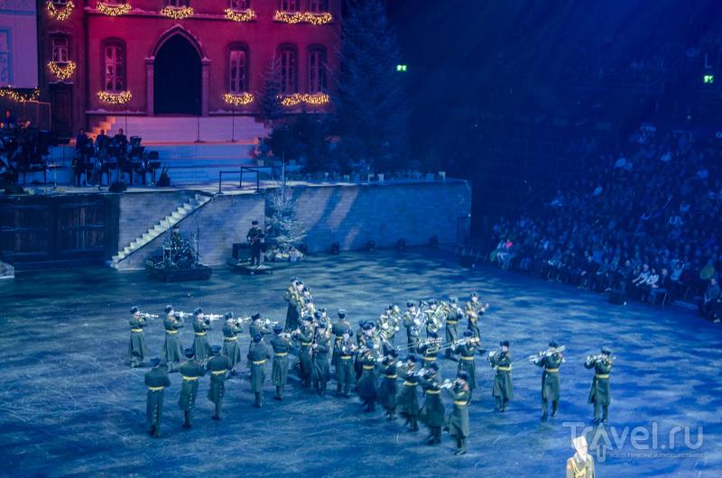 Российский военный оркестр на Christmas Tattoo / Фото из Швейцарии
