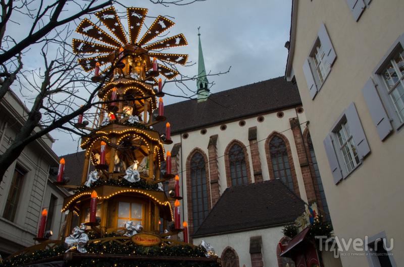 Рождественская карусель / Фото из Швейцарии