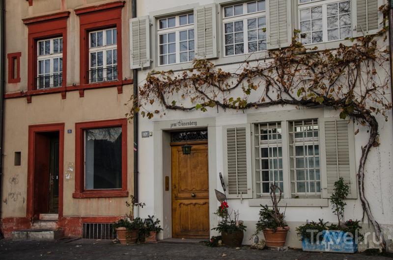 Дома в Базеле / Фото из Швейцарии