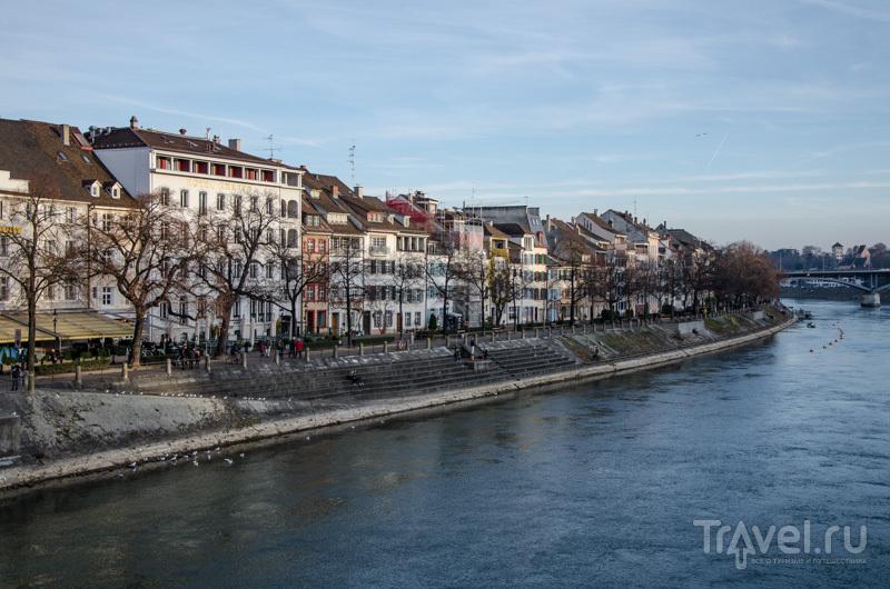 Набережная Рейна / Фото из Швейцарии