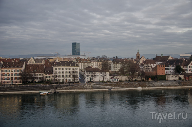 Вид на Рейн / Фото из Швейцарии