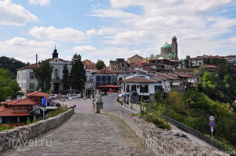 Крепость Царевец в городе Велико-Тырново, Болгария / Фото из Болгарии