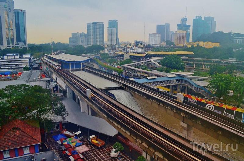 В городе Куала-Лумпур, Малайзия / Фото из Малайзии