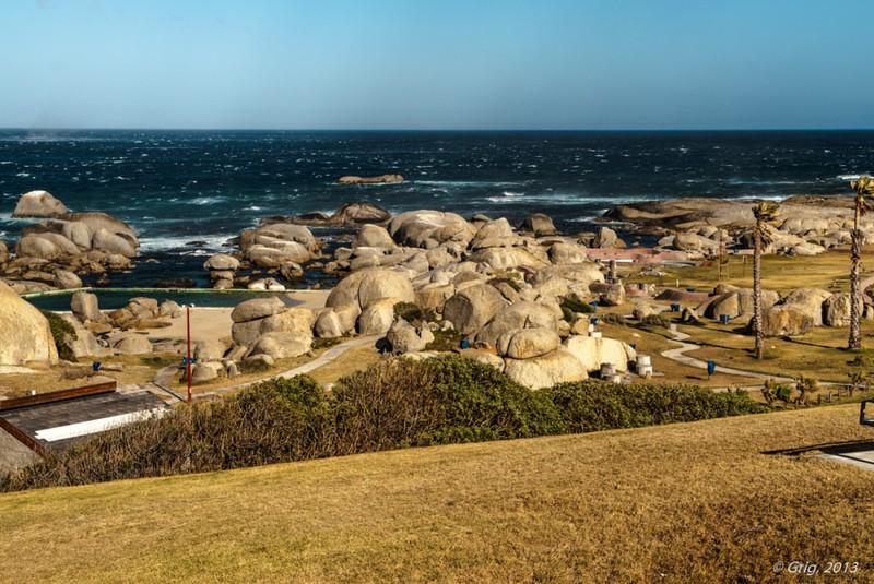 Бухта Хаут-Бей и остров котиков / Фото из ЮАР