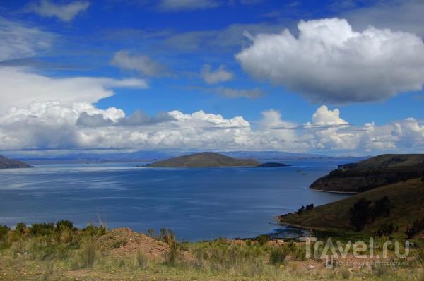 Озеро Титикака в Боливии / Фото из Боливии