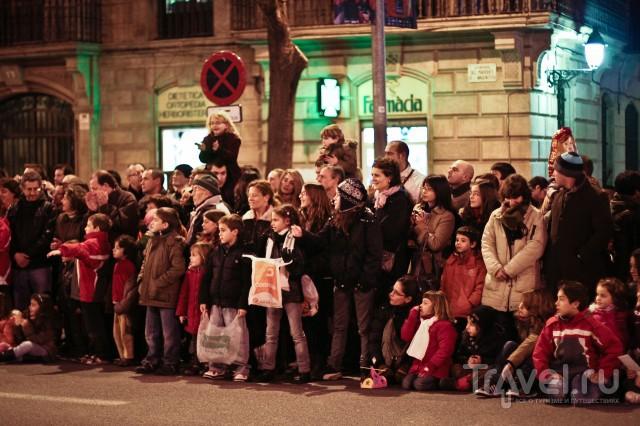День Трех Волхвов в Барселоне / Испания