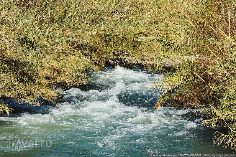 Река Дюден Чайы в Анталье, Турция / Фото из Турции