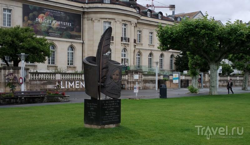 Веве - город на берегу Женевского озера и музей питания / Швейцария