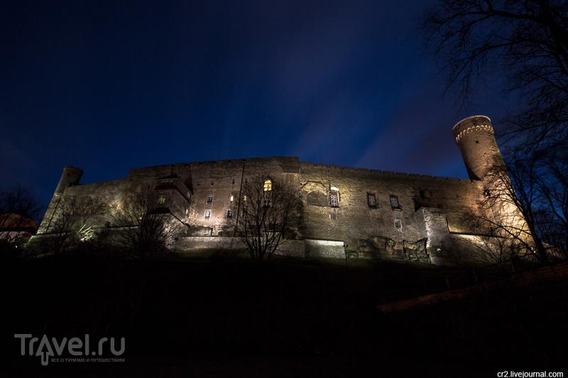 """Цитадель Тоомпеа и башня """"Длинный Герман"""" в Таллине, Эстония / Фото из Эстонии"""