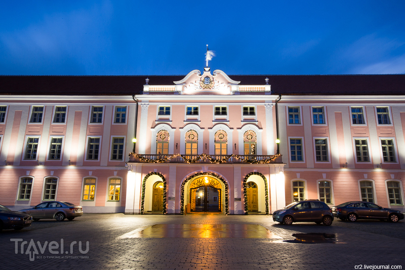 Замок Тоомпеа в Таллине, Эстония / Фото из Эстонии