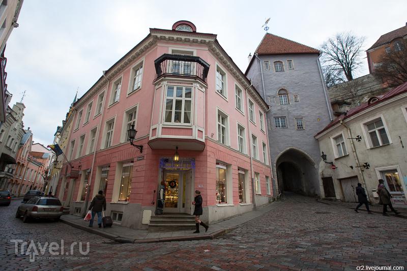 Надвратная башня Нижнего города Пикк Ялг в Таллине, Эстония / Фото из Эстонии
