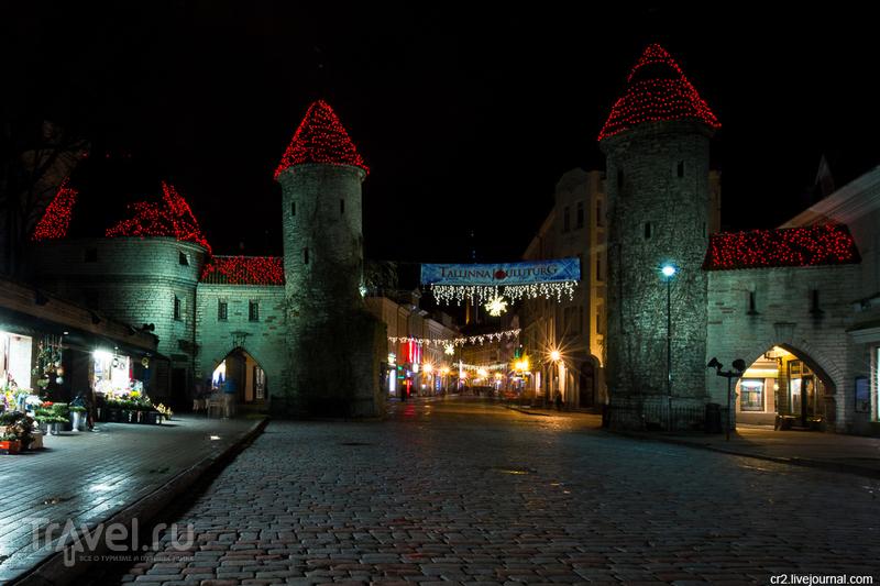 Ворота Виру  в Таллине, Эстония / Фото из Эстонии