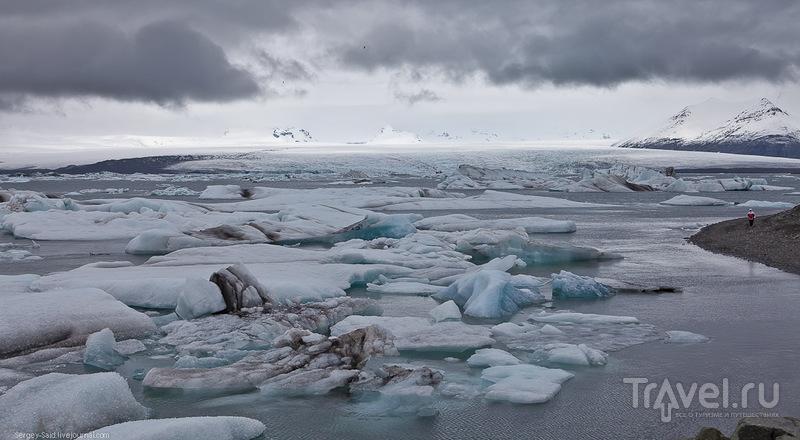 В Лагуне Айсбергов или Ёкюльсарлон, Исландия / Фото из Исландии