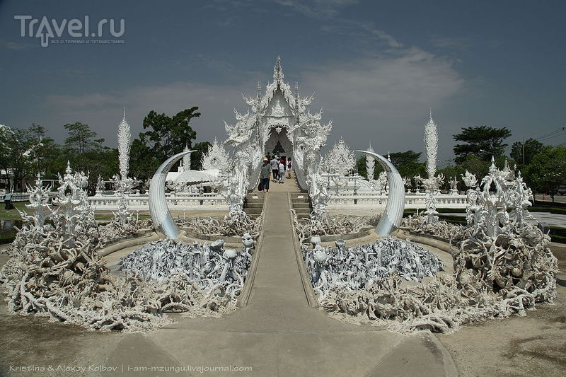 Белый храм в Таиланде / Фото из Таиланда