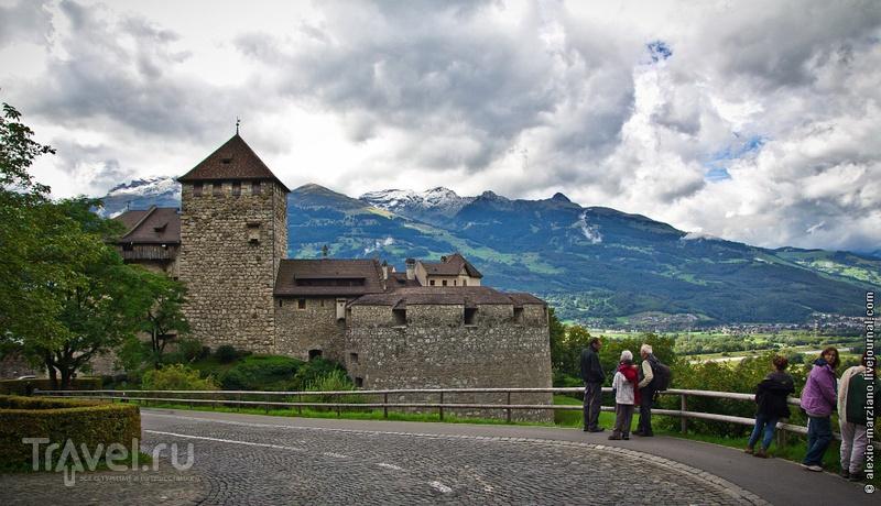 Замок Вадуц в Лихтенштейне / Фото из Лихтенштейна