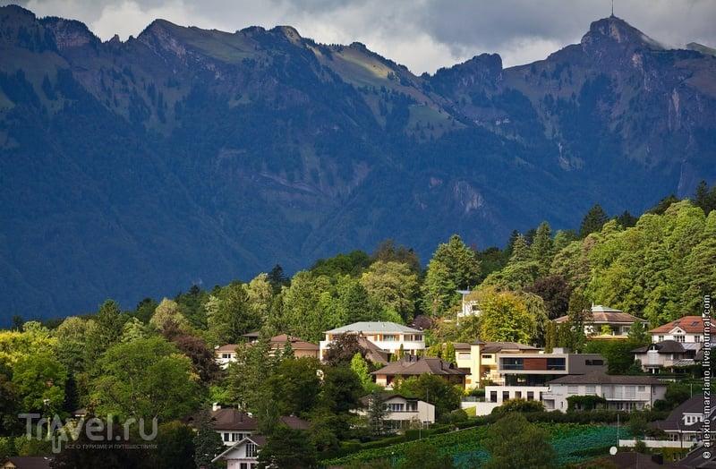 В городе Вадуц, Лихтенштейн / Фото из Лихтенштейна