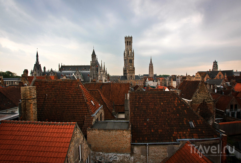 Башня Белфорт в Брюгге, Бельгия / Фото из Бельгии