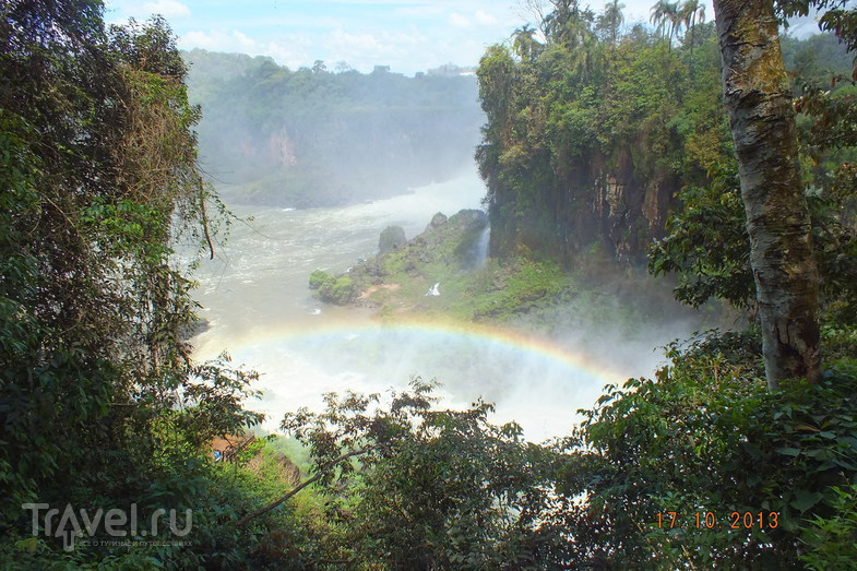 Аргентина. Водопады Игуасу / Аргентина