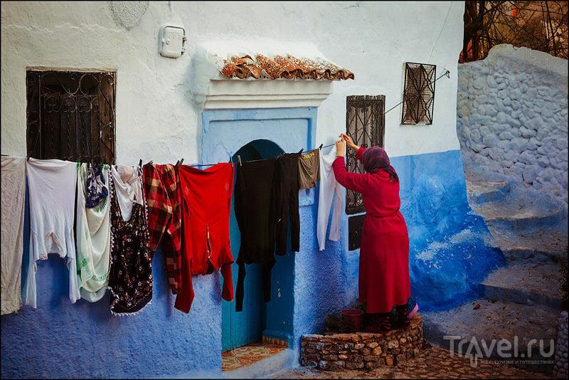 В городе Шефшауэн, Марокко / Фото из Марокко