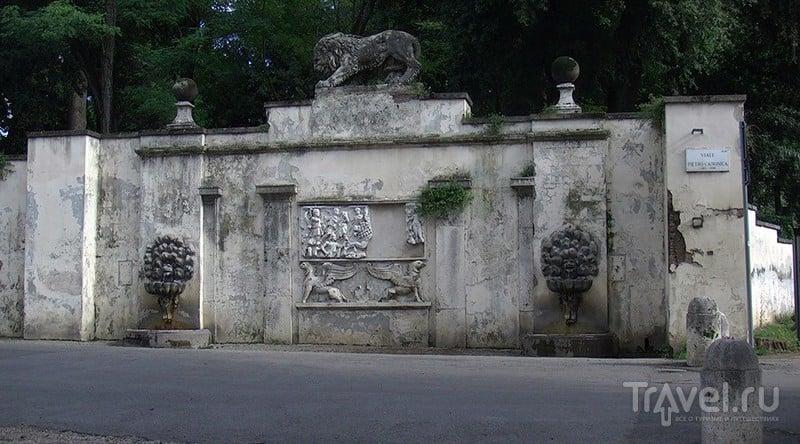 Рим. Прогулка по парку виллы Боргезе / Италия