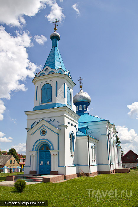 Храм Георгия Победоносца в Гольшанах, Белоруссия / Фото из Белоруссии