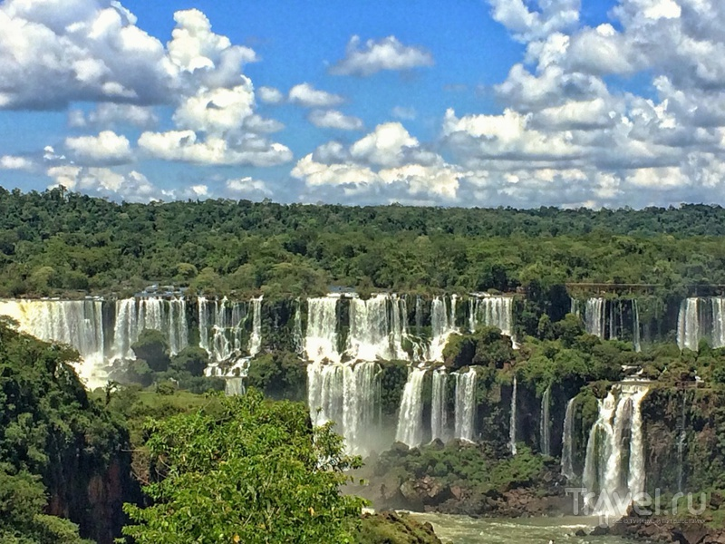 Южная Америка. Игуасу / Бразилия