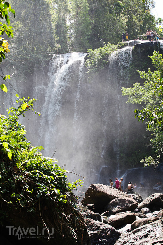Река 1000 лингамов и водопады / Камбоджа