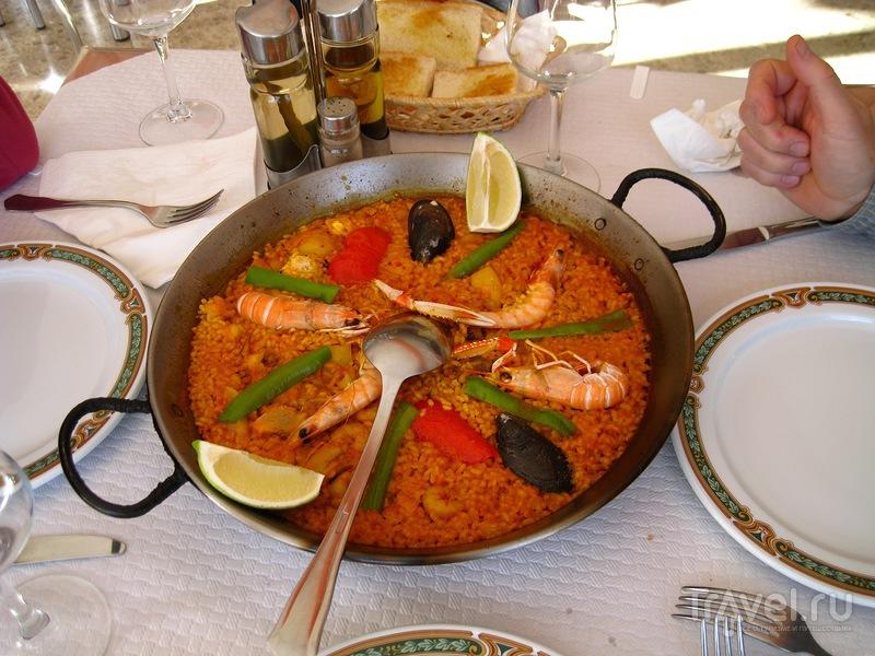 Как мы питались в Испании / Испания