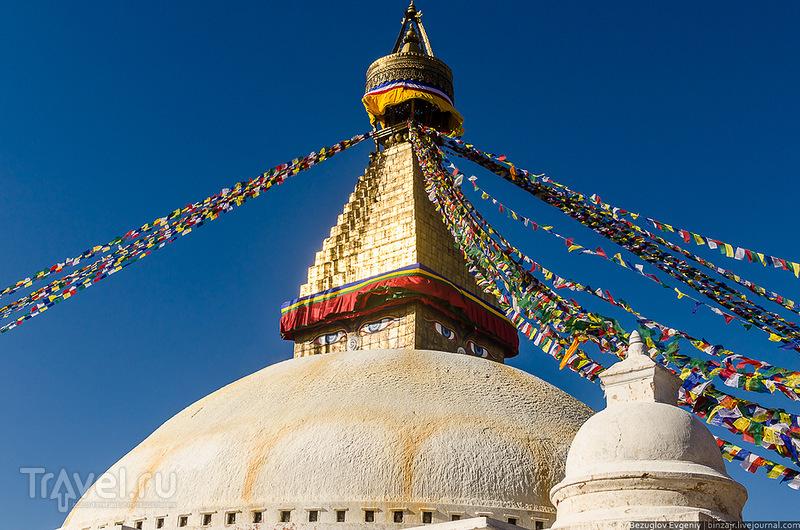 Ступа Будданатх в Катманду, Непал / Фото из Непала