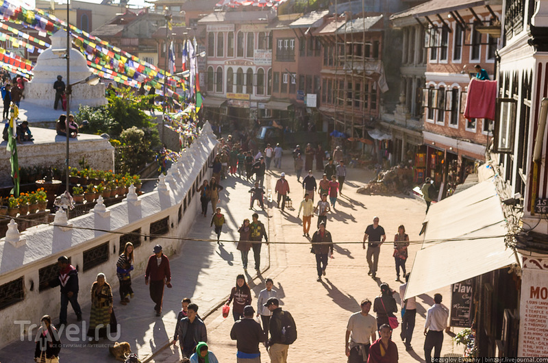 Непал. Вокруг Будданатх. Ноябрь 2013 / Фото из Непала