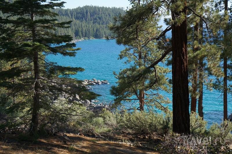 Озеро Тaхо летом / США
