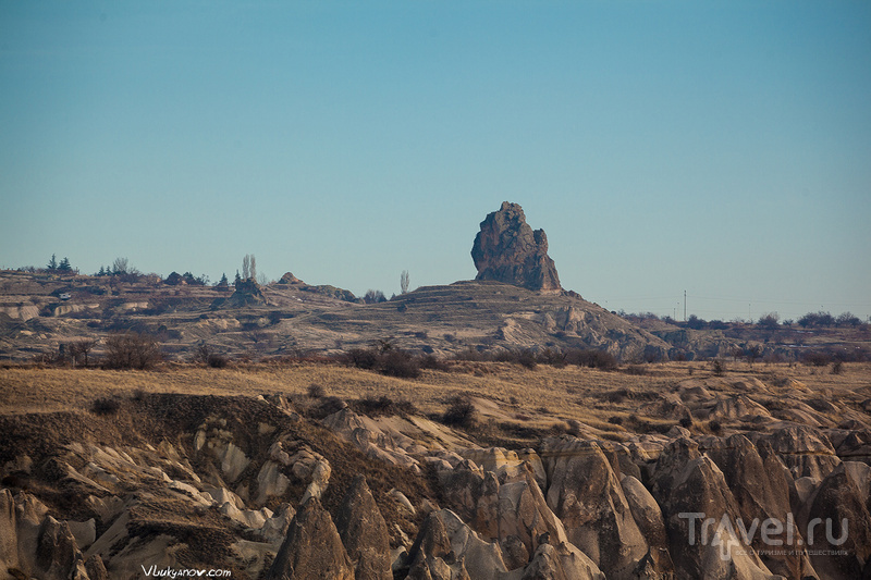 Крепость Ортахисар в Каппадокии, Турция / Фото из Турции