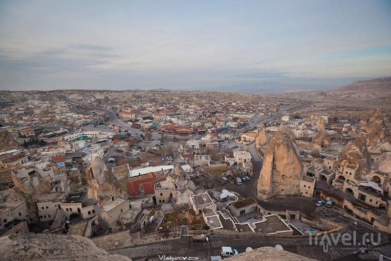 Город Гёреме в Каппадокии, Турция / Фото из Турции