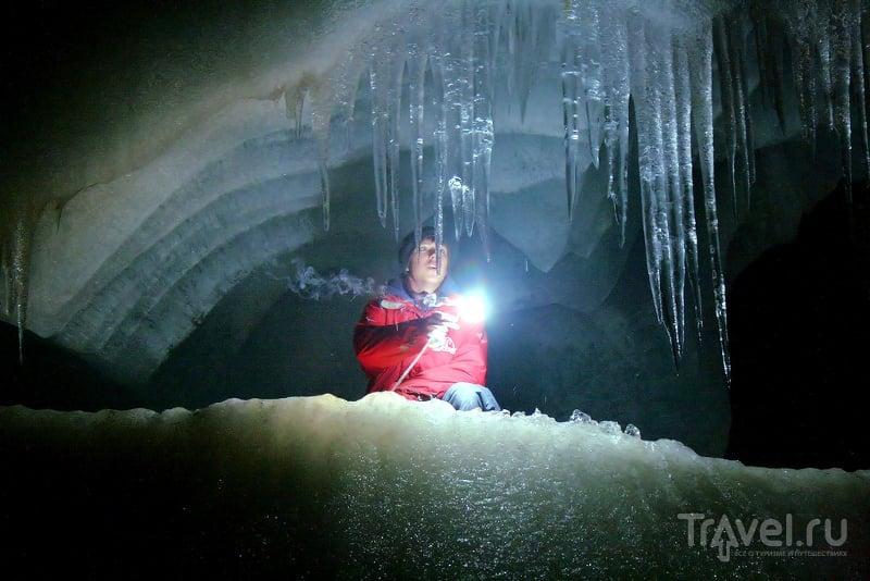 Ледяные пещеры - одно из самых невероятных и красивых зрелищ на планете / Австрия