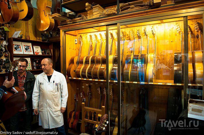 Гитарная мастерская в Гранаде / Испания