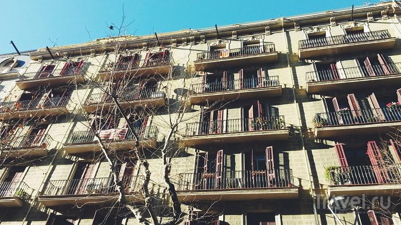 В городе Барселона, Испания / Фото из Испании