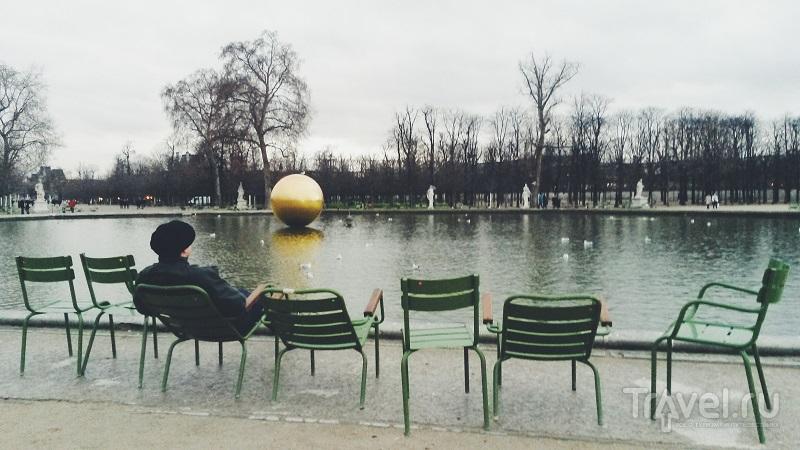 Сад Тюильри в Париже, Франция / Фото из Испании